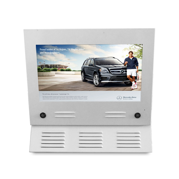 22inch 1080p Sunlight Readable Dual-screen LCD Ad Player